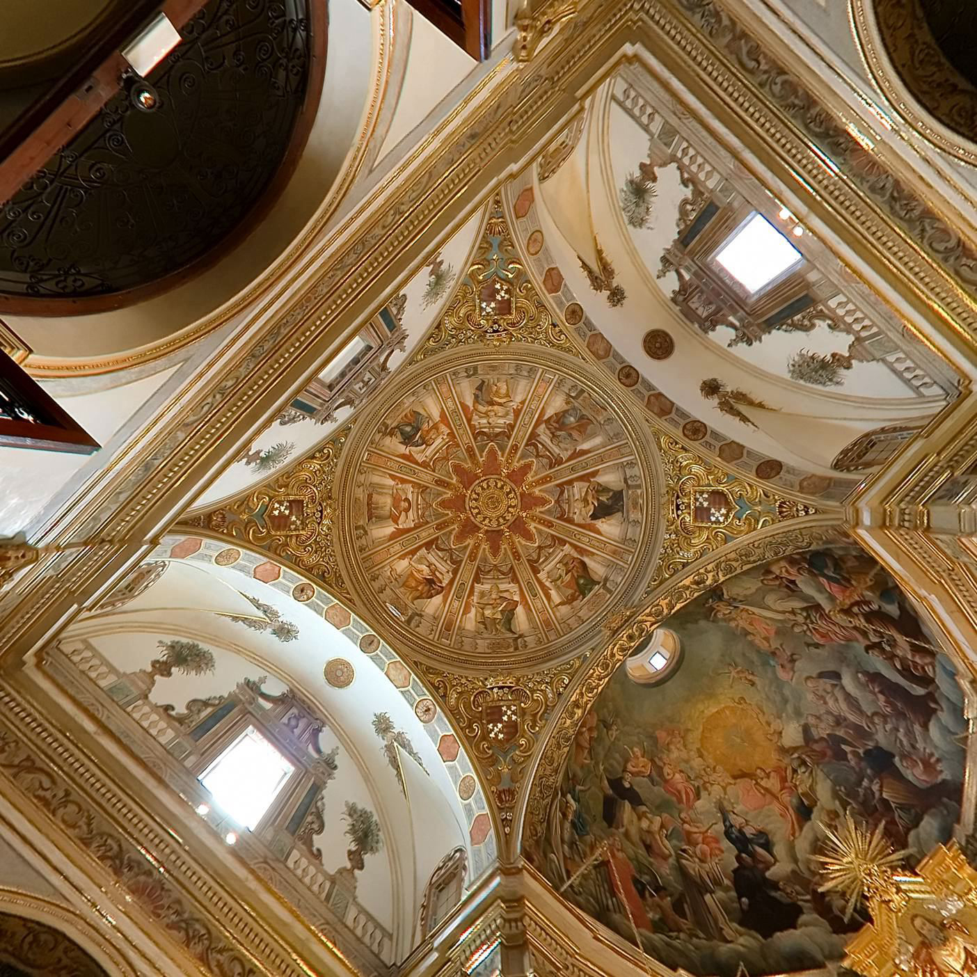 cupula Sant Roc, Oliva