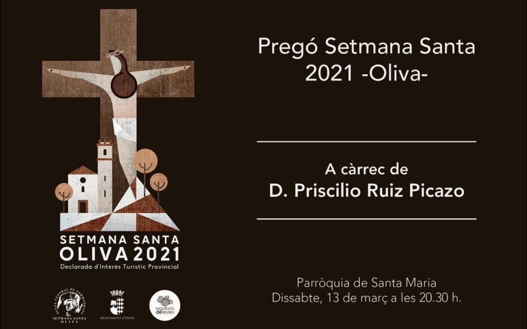 Pregó Setmana Santa 2021 Oliva